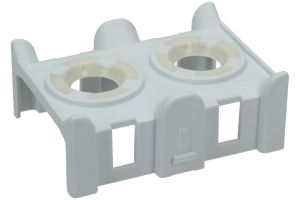 Sealing Block, Upper Arm Supply Seal for Whirlpool Indesit Dishwashers - 481253029431 Whirlpool / Indesit