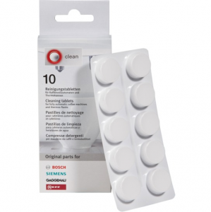 Cleaning and Degreasing Tablets for Bosch Siemens Coffee Makers - 00311969