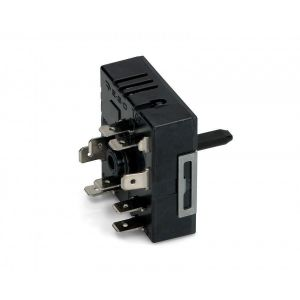 Hot Plate Energy Regulator, Hot Plate Power Switch (for 2 Circuits) for Universal Ceramic Hobs - 50.85021.000