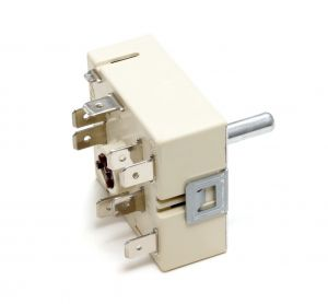 Hot Plate Energy Regulator, Hot Plate Switch (for 1 Circuit) for Electrolux AEG Zanussi Whirlpool Indesit Ariston Ceramic Hobs - 3150788242
